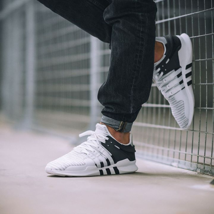 sale retailer cf9b8 e6912 Adidas Equipment Support ADV 91-16 Running White  Core Black Via Overkill  Shop Adidas Inside Sneakers