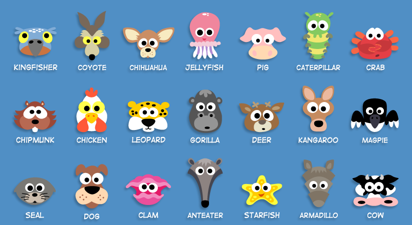 Printable Animal Masks For Kids To Make I Just Downloaded This Whole Book Super Fun Cub Scout Skits