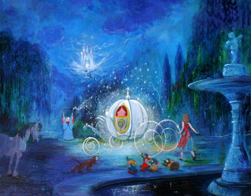 """""""A Dream is a Wish Your Heart Makes"""" by Peter Ellenshaw ... A Dream Is A Wish Your Heart Makes Hd"""