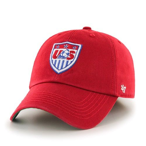 Usa United States Soccer Nat L Team 47 Brand Franchise Fitted Red Hat Cap S Red Hats 47 Brand Hats