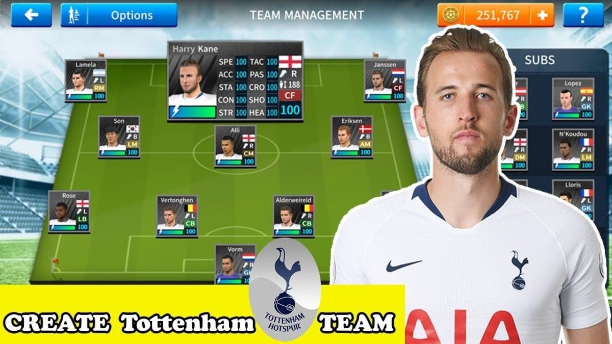 Download Profile Dat For Dream League Soccer Tottenham Hotspur Club Download Profile Dat For Dream League Soccer Tottenham Hotspur Tottenham European Soccer