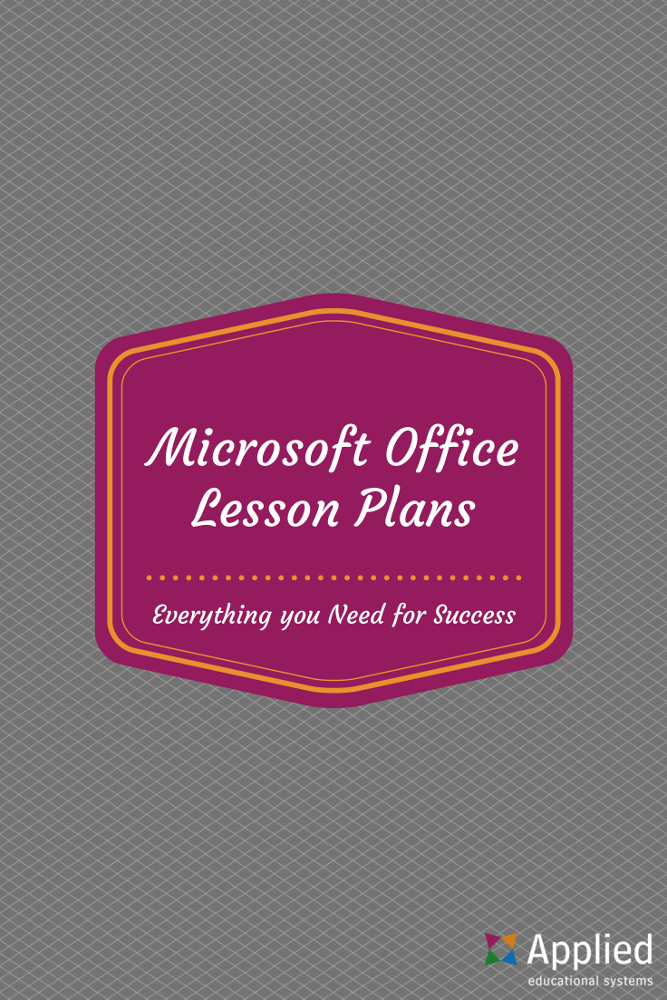 microsoft office lesson plans your students will love computer