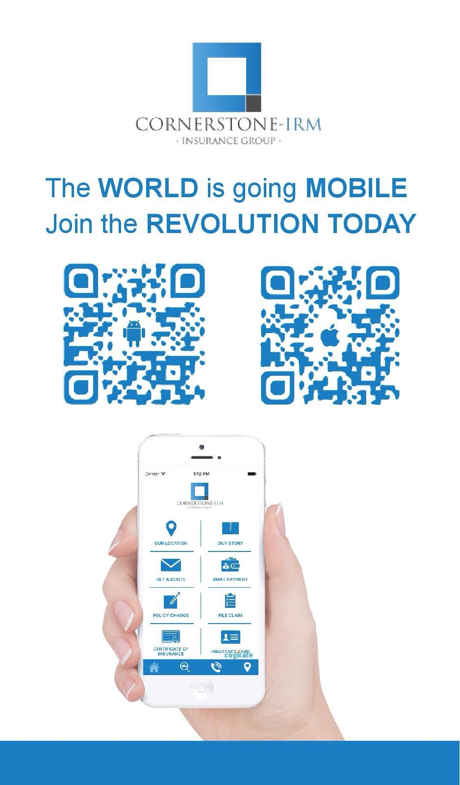 The WORLD is going MOBILE. Join the REVOLUTION today! The