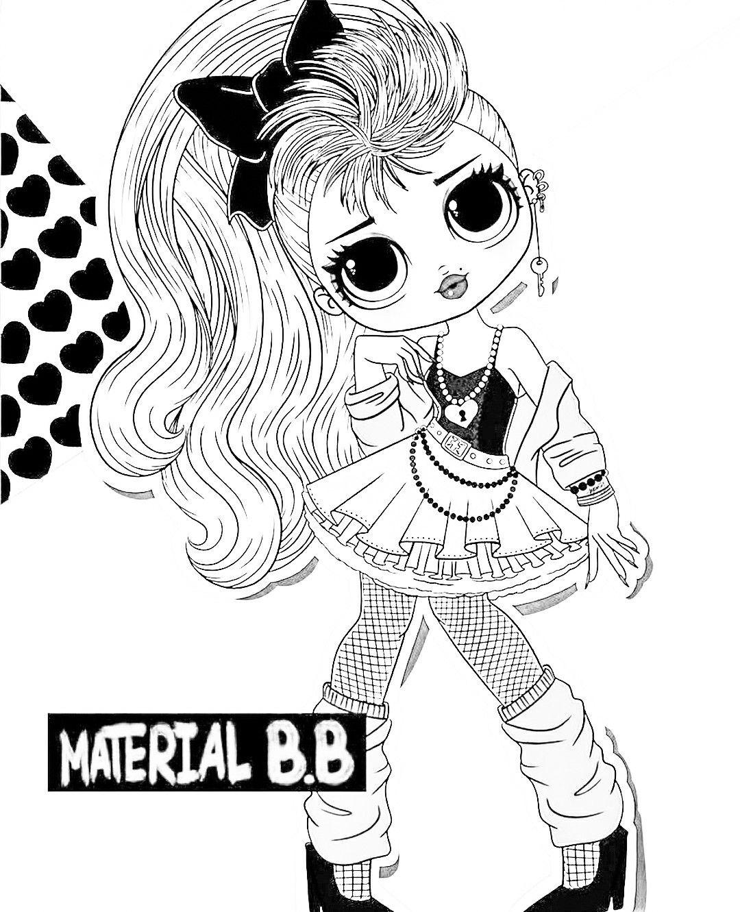 Lol Raskraska Shablon Lol Kukla In 2020 Character Coloring Pages Disney Characters