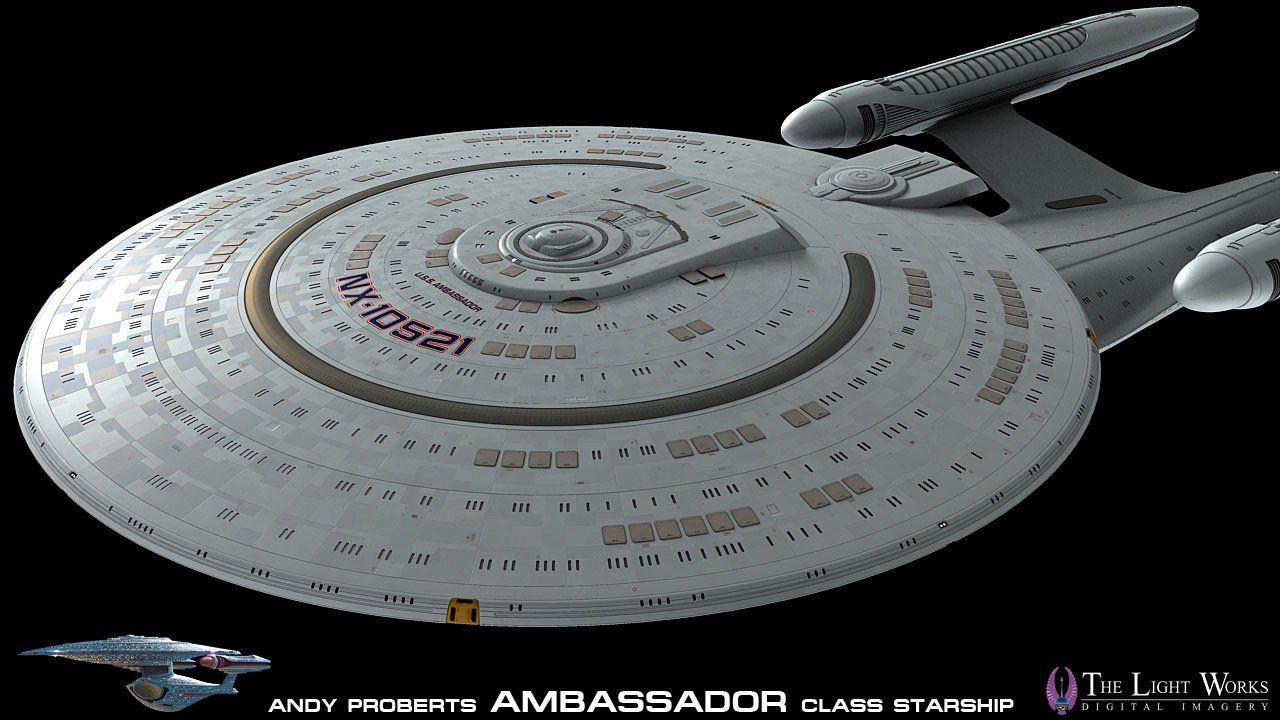 Class vessel prototype uss ambassador nx10521 ships
