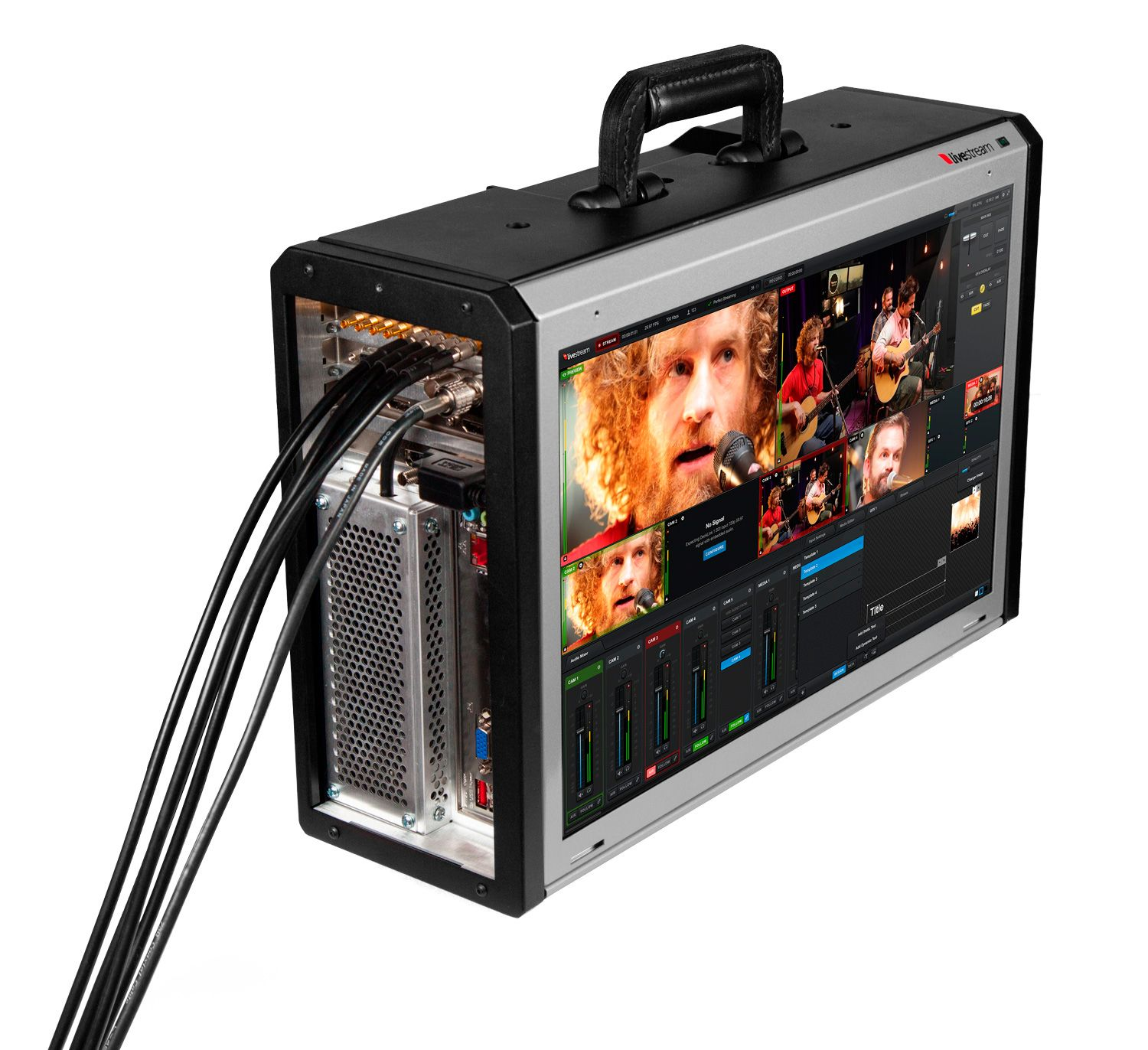 Livestream Studio HD500  The world's most portable all-in-on HD