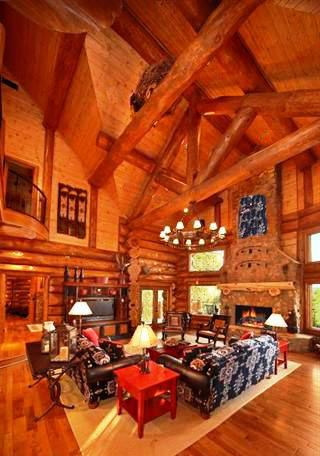 Living Room! | Future Home | Pinterest | Cabin, Living rooms and Room