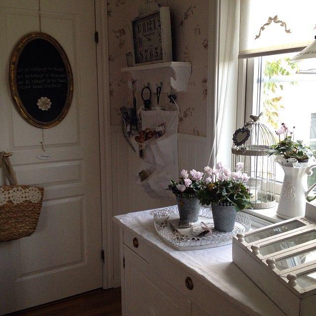 Shabby and Charme: In Svezia a casa di Ingela per cominciare a respirare un pò di aria natalizia