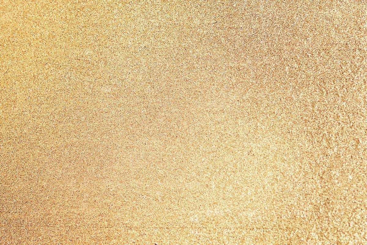 Download Premium Vector Of Gold Glitter Sand Textured Background High Textured Background Sand Textures Gold Glitter Background