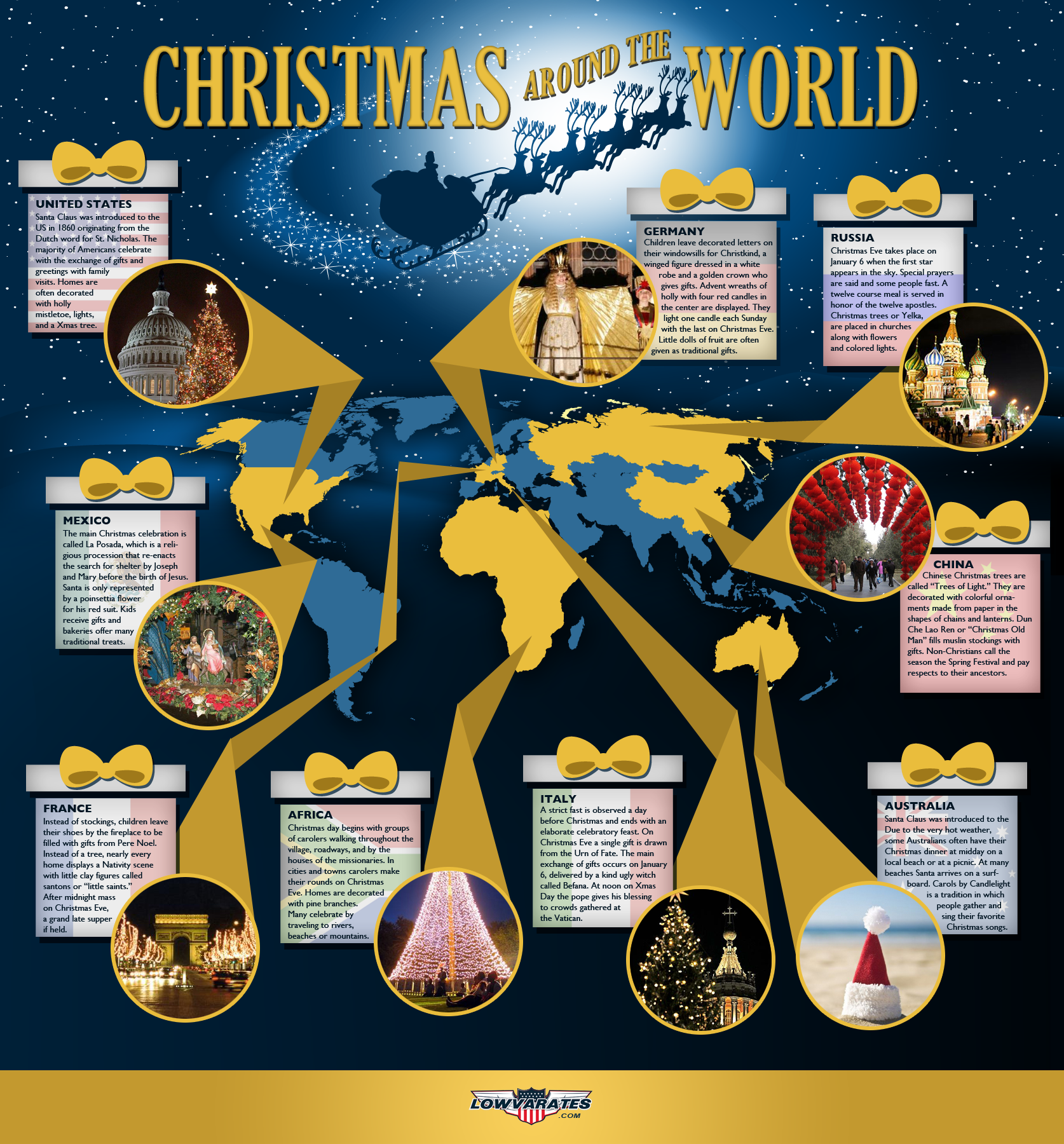 Uncategorized Christmas Stories From Around The World christmas around the world infographics fun graphics data world