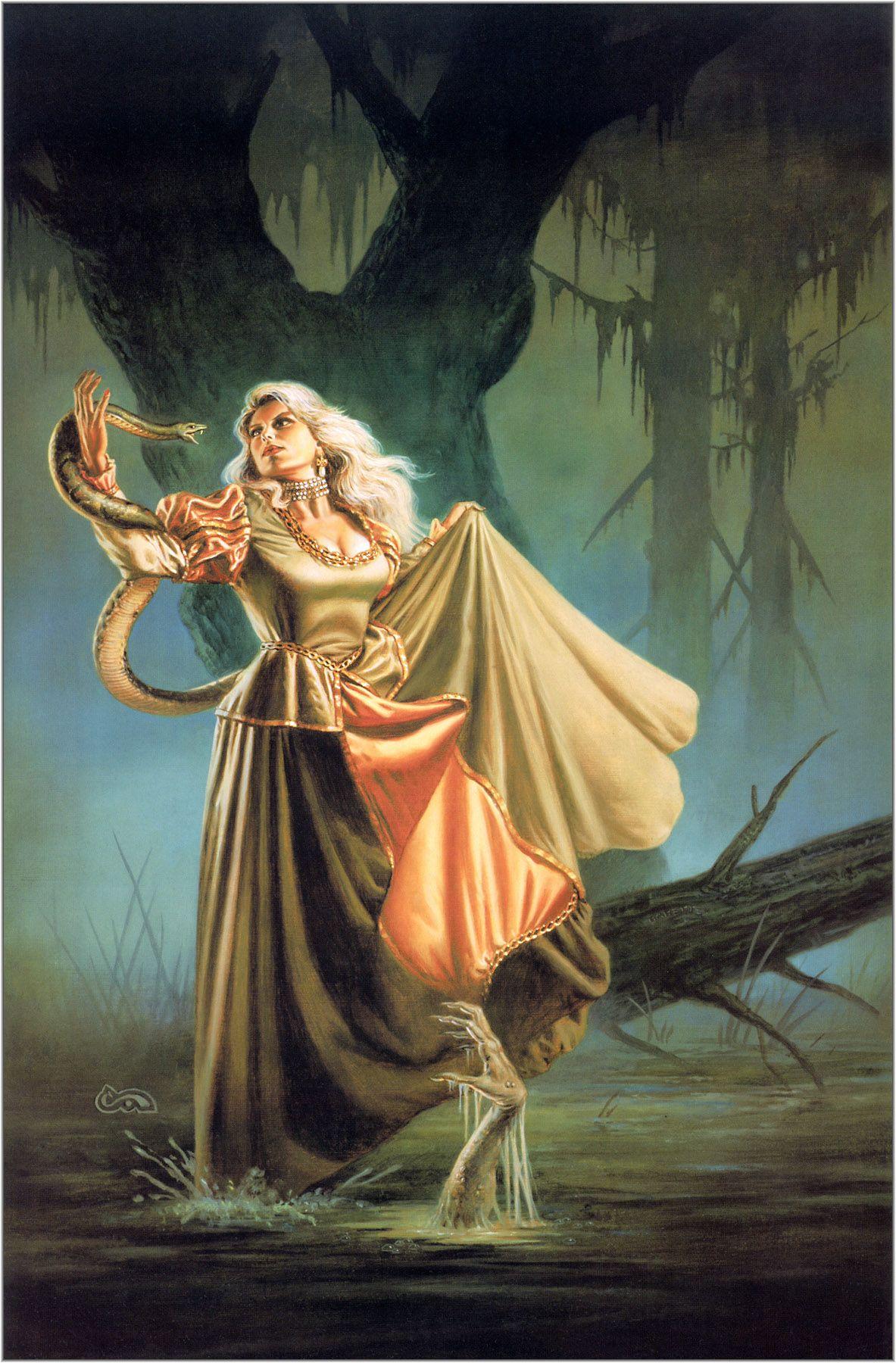 Dance Of The Dead (Ravenloft #3) - Clyde Caldwell