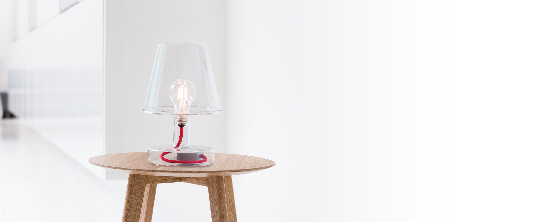Petite Lampe Fermob Ideal Pour L Interieur Tout Comme L Exterieur Lamp Retro Table Lamps Small Table Lamp