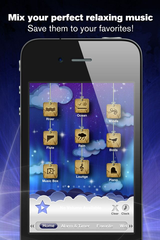 Relax Melodies Sleep Sounds App, Noise app, Iphone