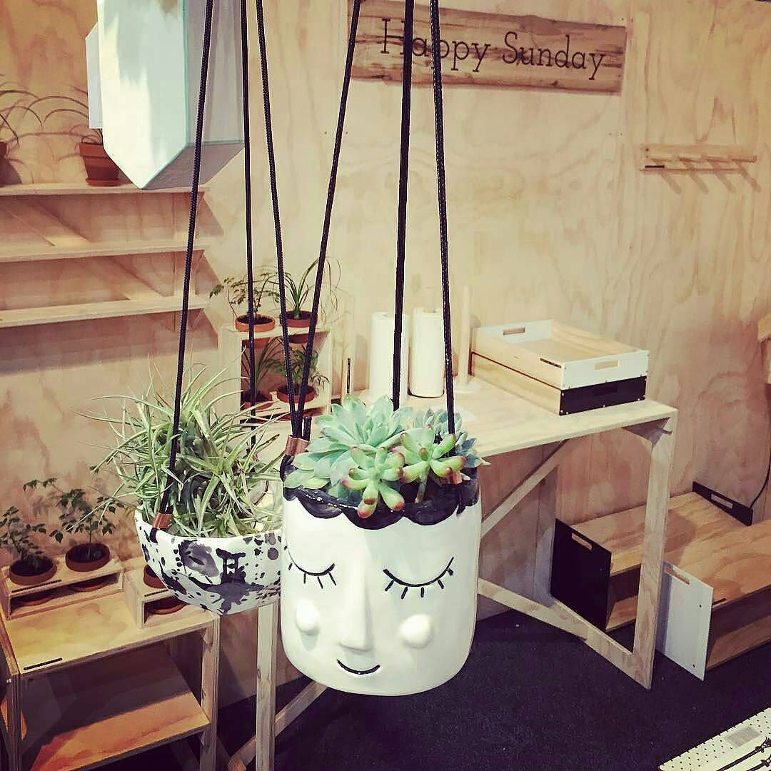 20% Off - You can't help but smile with a Happy Face Planter hanging around! This amazing planter is handcrafted in NZ by JS Ceramics and is designed for low maintenance plants such as succulents or cacti. It also comes in a beautiful natural cotton bag which is perfect if buying as a gift. Now on SALE at $48 down from $60. . http://ift.tt/2picsw7 . #forkeepsstore #georgeandco #ceramicvase #walldecor #planter #planters #plantlife #forkeepsstore #nz #homeware #decor #bargain #homedecor…