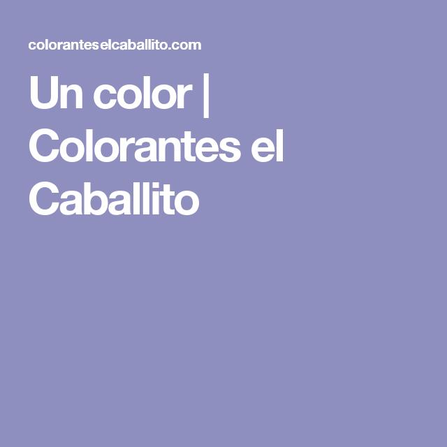 Un Color Colorantes El Caballito Colores Fijador Botellas
