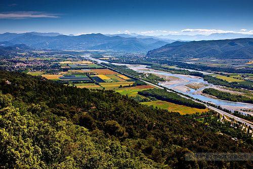 La Vallée de la Durance - Haute Provence - France