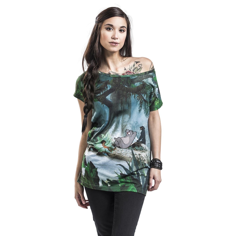Das Dschungelbuch  T-Shirt  »Nap Time« | Jetzt bei EMP kaufen | Mehr Fan-Merch  T-Shirts  online verfügbar ✓ Unschlagbar günstig!