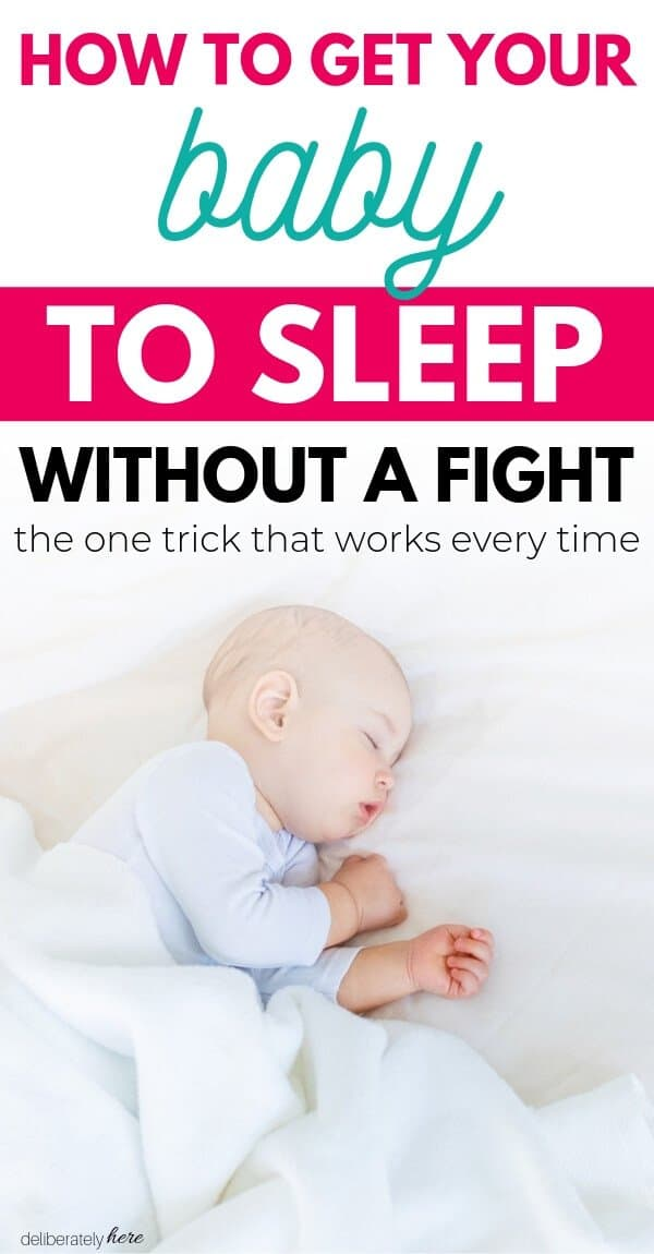 How To Get Your Baby To Sleep Without A Fight Baby Sleep Newborn Baby Sleep Putting Baby To Sleep