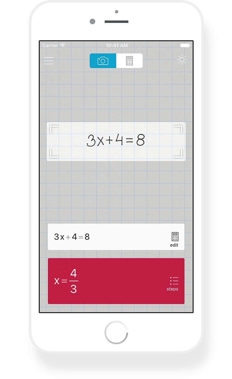 Photomath is the world\'s smartest camera calculator and math ...