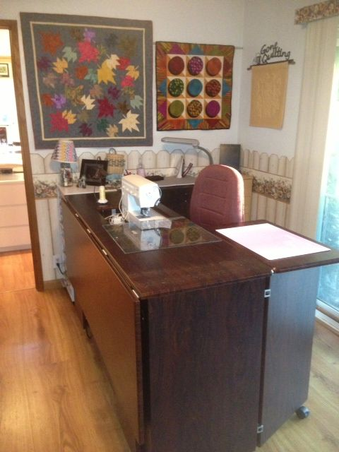 Debi O From Dixon Ca My Studio Style Home Decor Sewing Rooms Creative Space