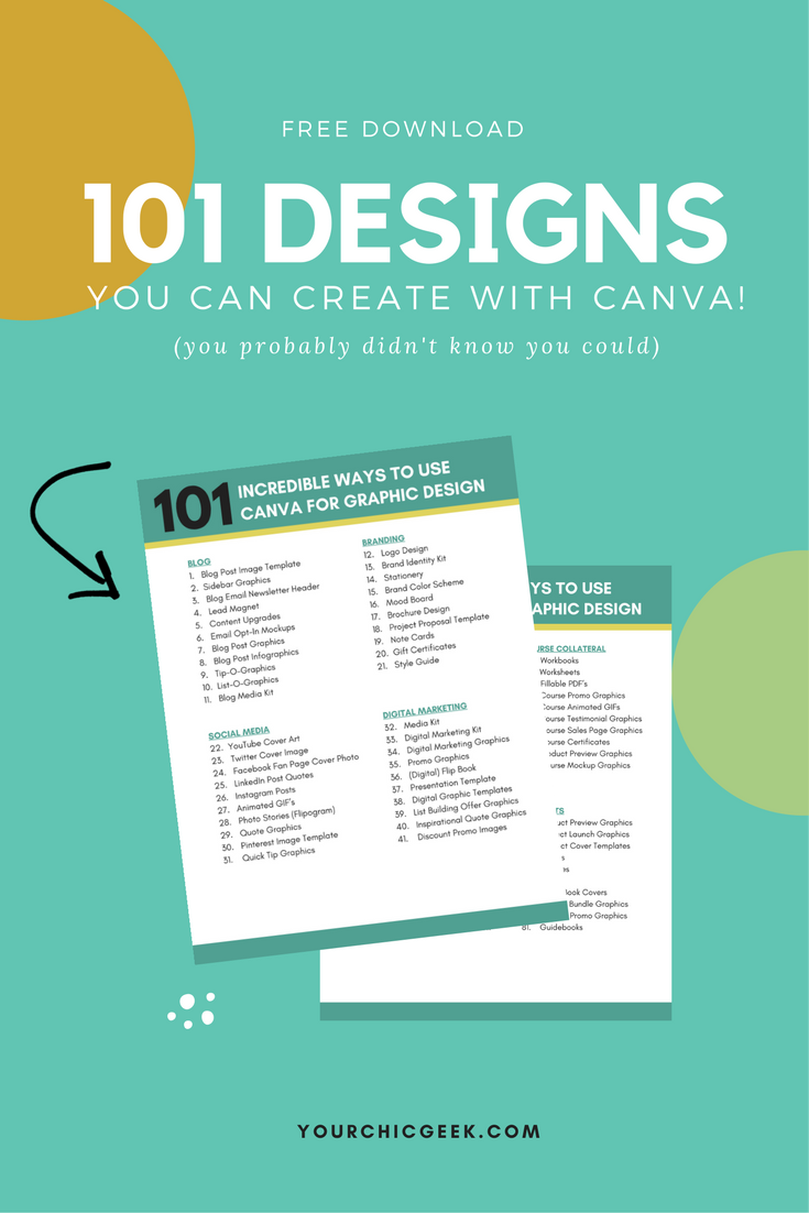 Heres a free printable and list of 101 Tips and Ideas on How