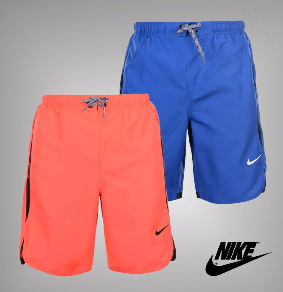 7faaf5eb71 Mens Genuine Nike Summer Beach Pool Rapid Swim Shorts Swimwear Size S M L XL