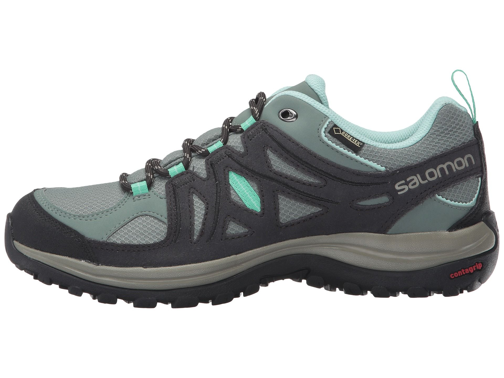 Salomon Ellipse 2 GTX® W Women\'s Hiking Shoe light ttasphaltjade green