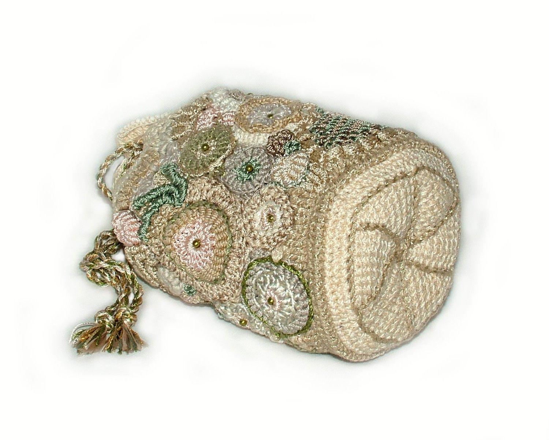 Designer Renate Kirkpatrick-Evening Cosmetic Jewelry Drawstring ...