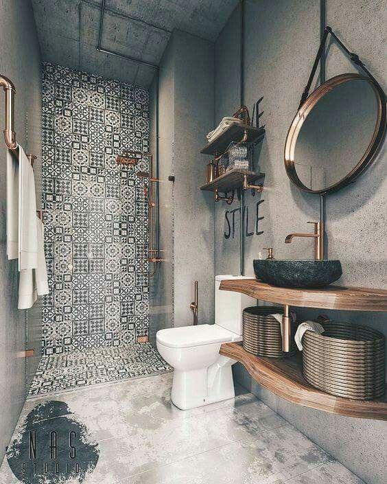 Small Bathroom Design Ideas In 2020 Bathroom Decor Bathroom Interior Design Small Bathroom Design