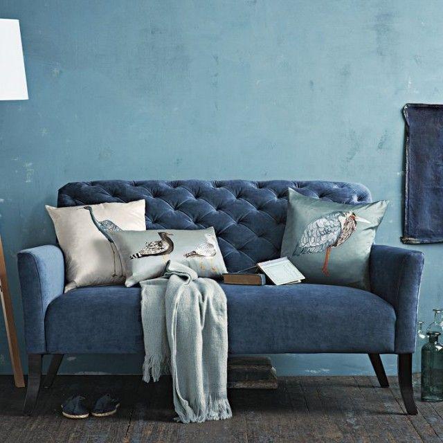 Blue Sofa   BLUE INTERIOR   Pinterest   Wohnideen, Stuhl und Wohnzimmer
