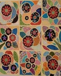 Tile quilting, template from Tile Quilt Revival. | Awesome Nana in ... : tile quilt - Adamdwight.com