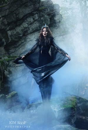 Dark Queen Ravenna Dress & Cloak, Snow-White & the Huntsman
