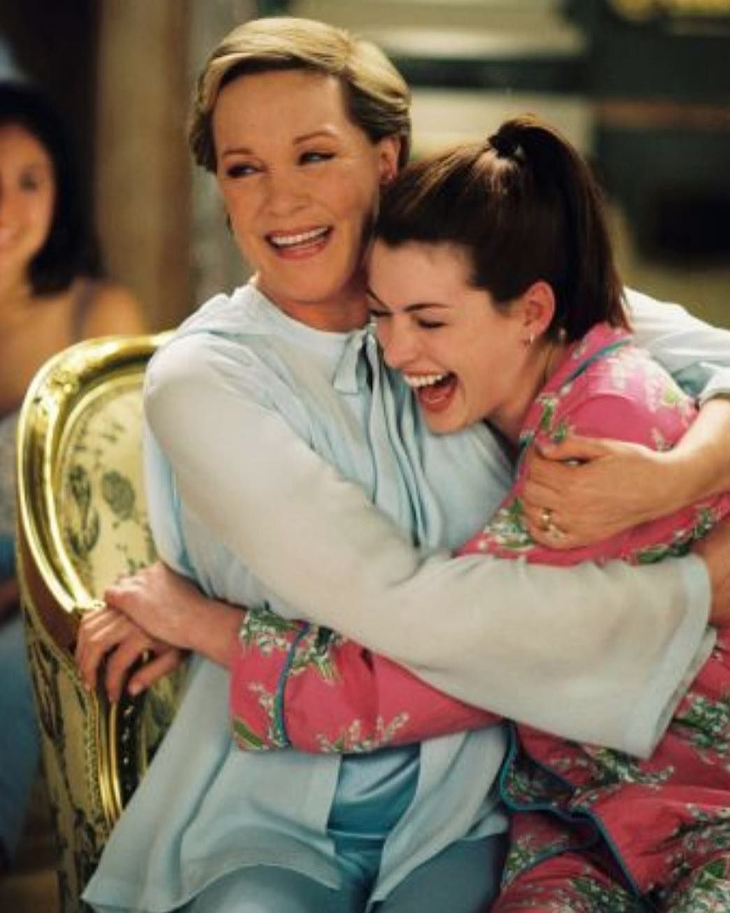 I Got To Hug Julie Andrews Every Day Anne Hathaway