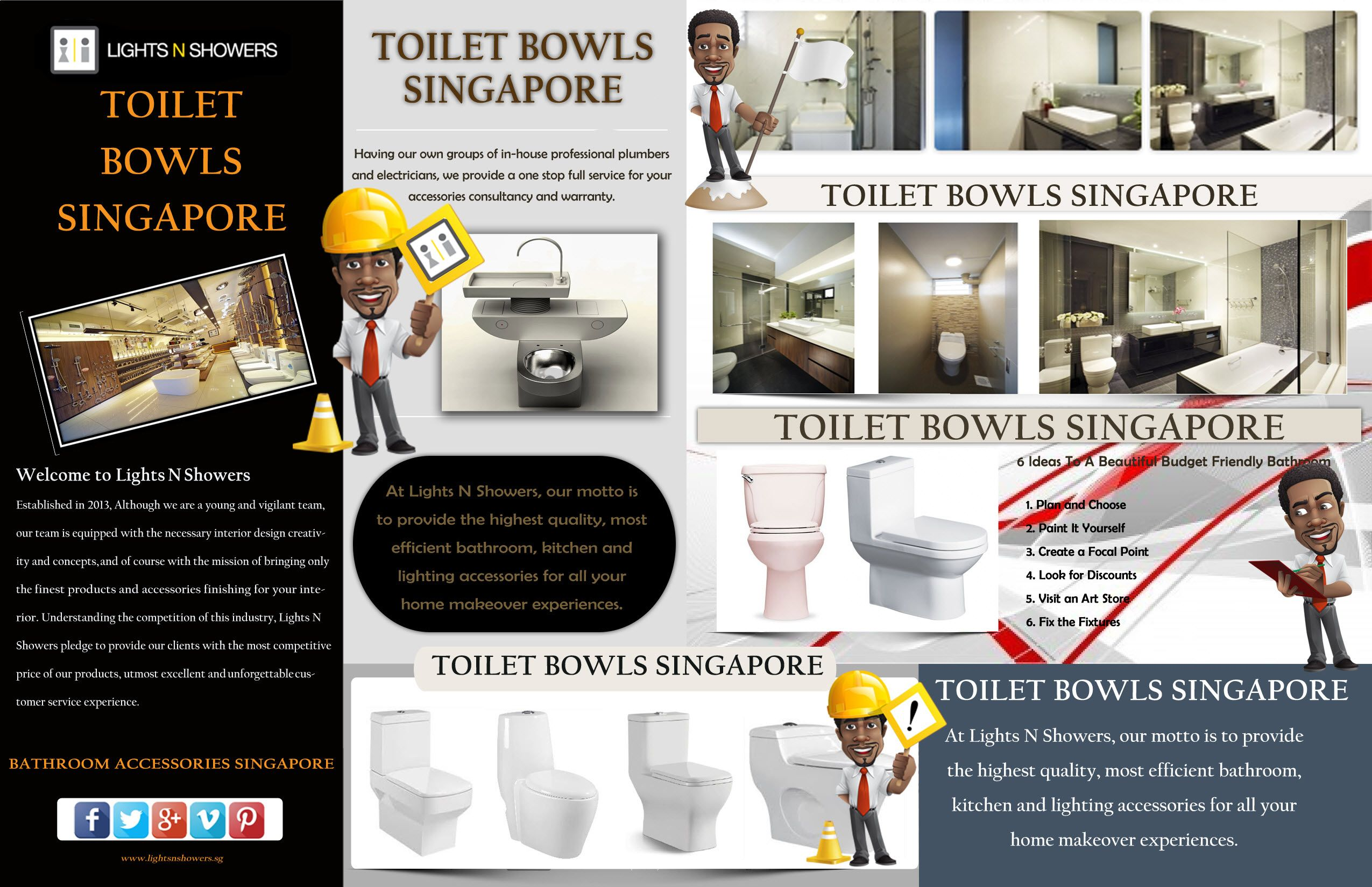Visit this site http://www.lightsnshowers.sg/toilet-bowls-singapore ...