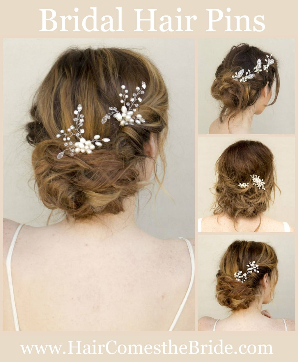 Bridal Hair Pins by Hair Comes the Bride - Quick Shipping - Try ...