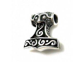 dise/ño con forma del martillo de Thor plata 925 Colgante
