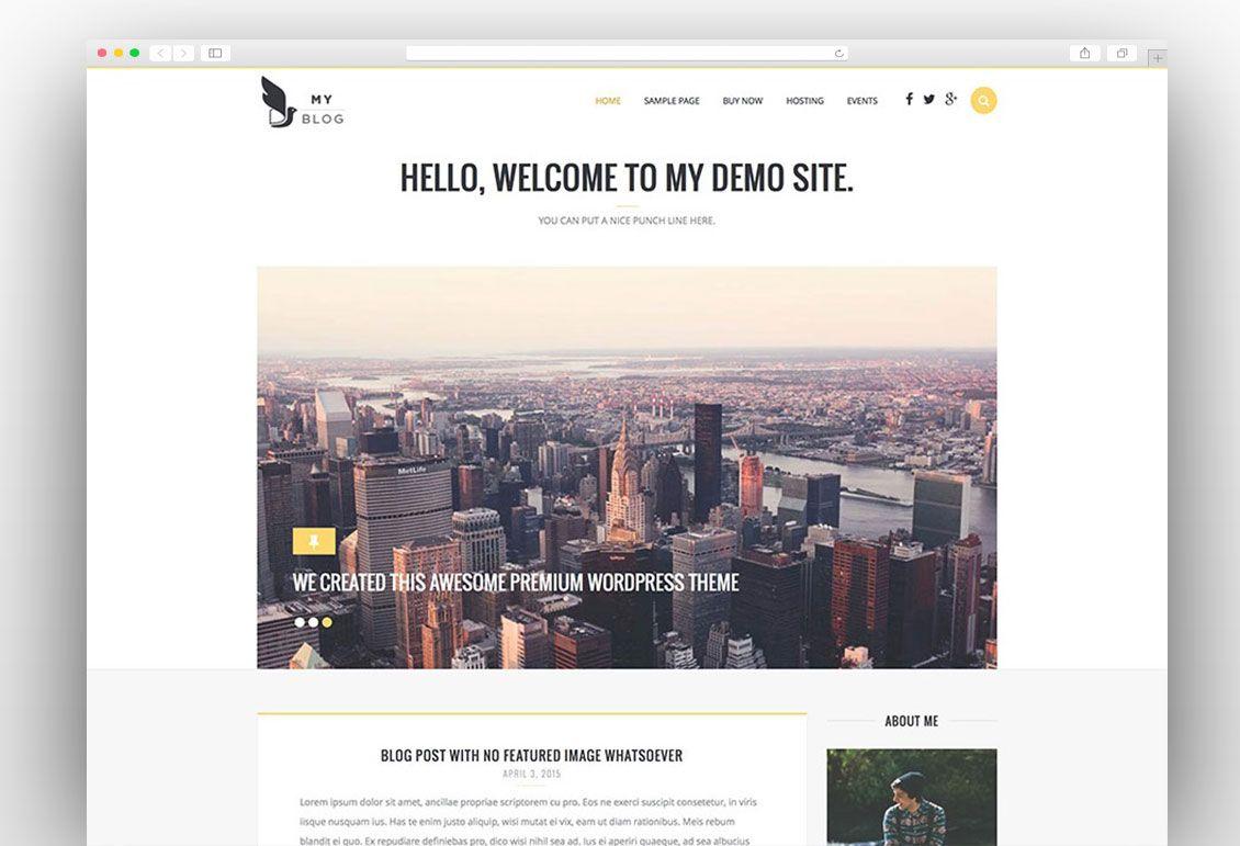 11 besten Webseiten-Templates Bilder auf Pinterest   Wordpress ...
