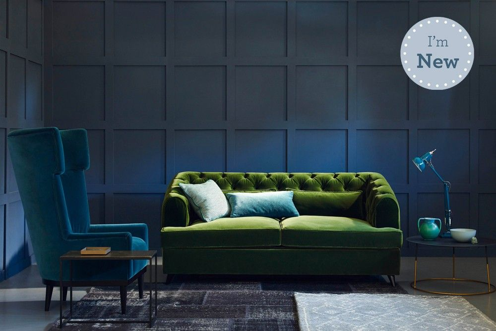 Love your Home - Earl Grey Modern Chesterfield Sofa Bed .This modern ...