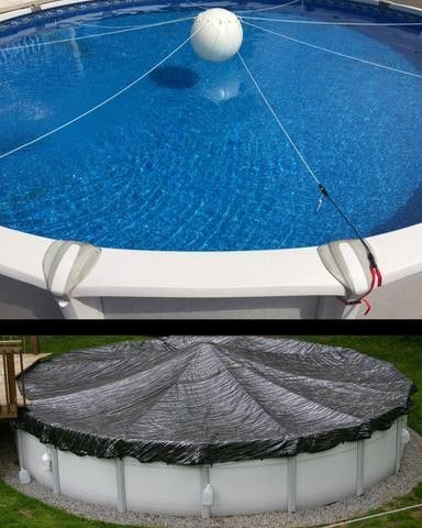 In Ground Pools Diy Pool Above Cover