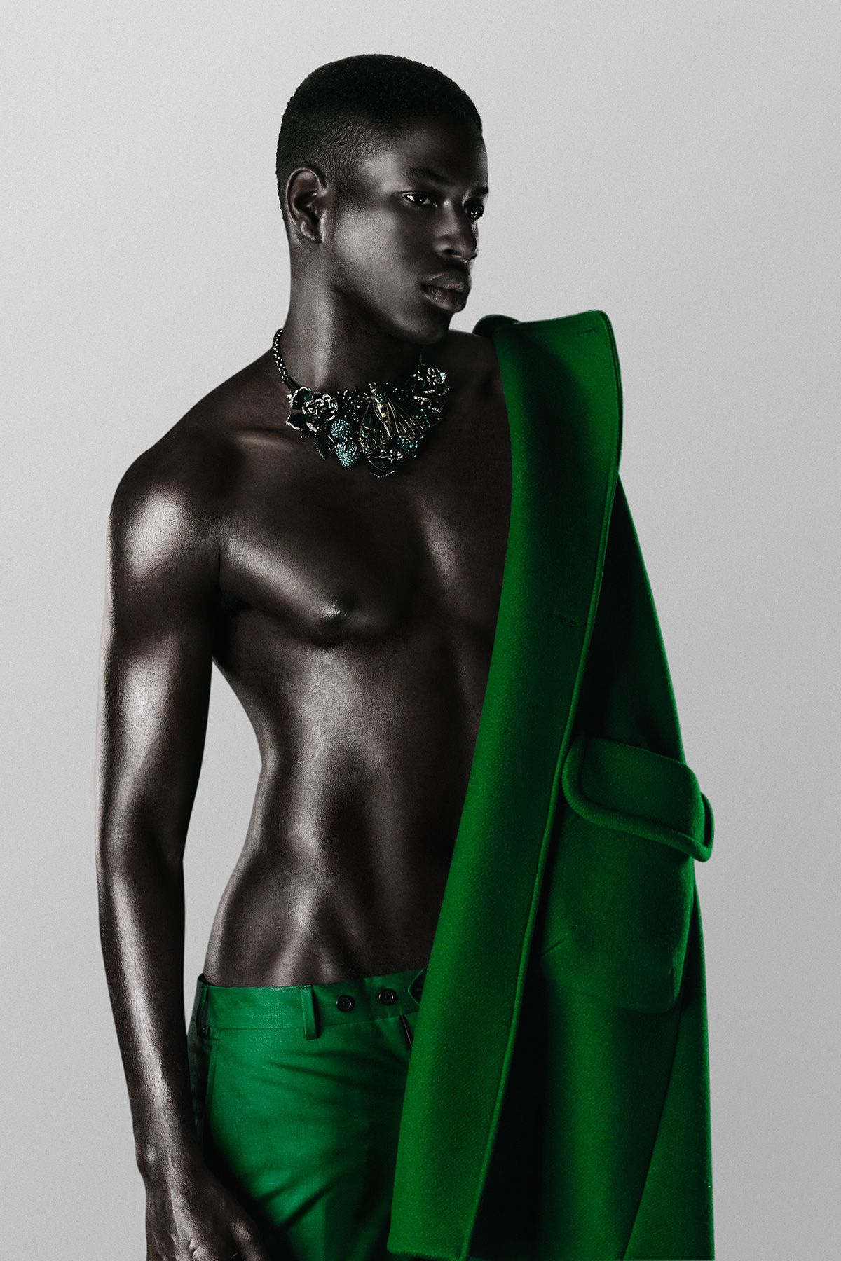 racebendingharrypotter:  tomboybklyn:  M'Baye - Ford Models NY photo by Rodrigo Maltchique  Blaise Zabini