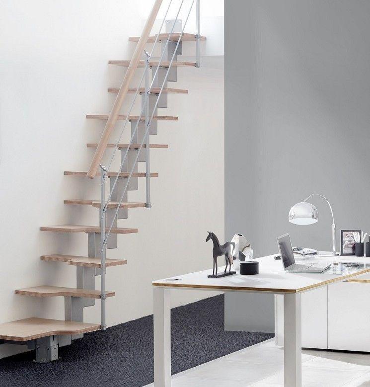 Escalier-droit-design | escalier | Pinterest