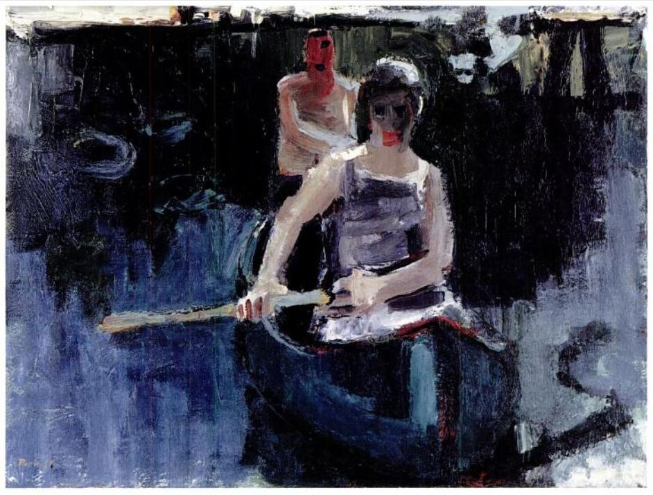 urgetocreate David Park, Canoe 1957 Bay area figurative