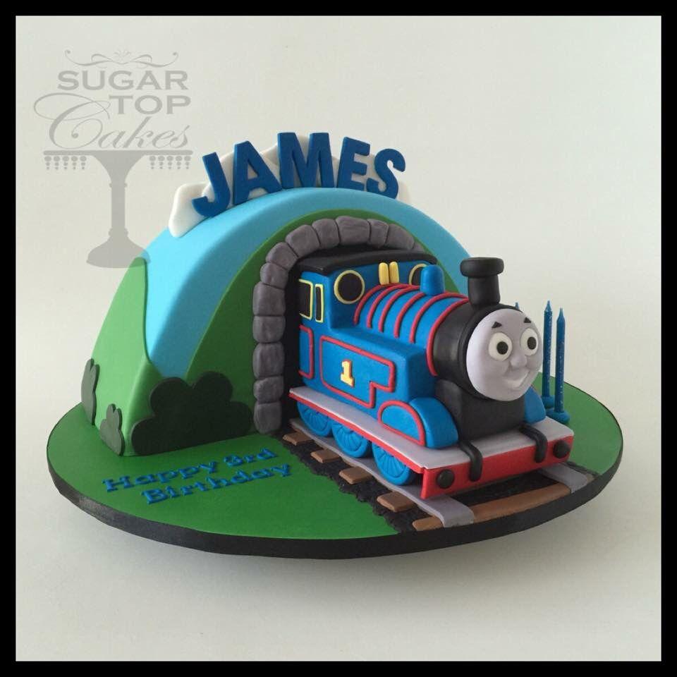 Thomas the train cake Thomas theme Pinterest
