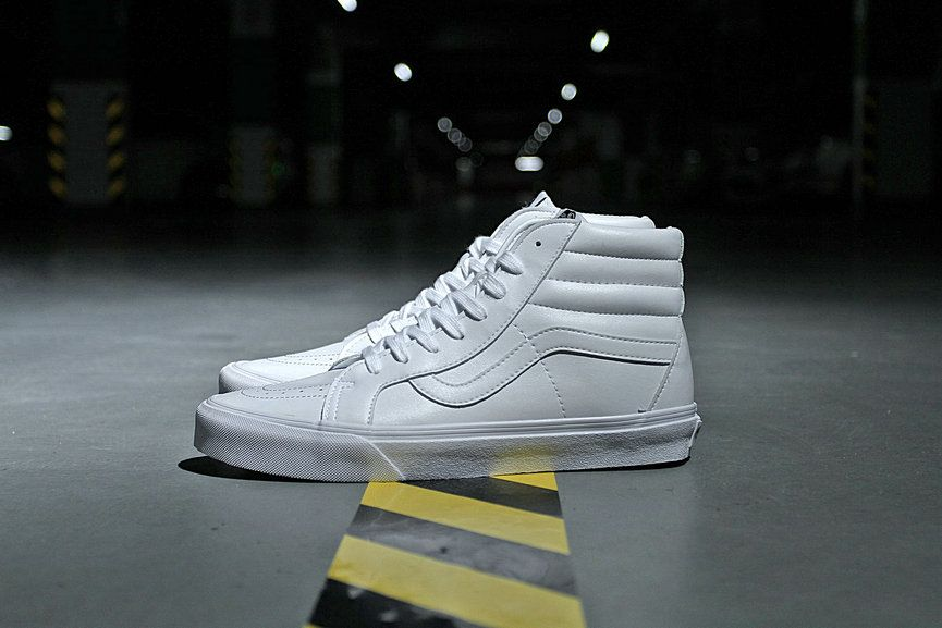 e4702b7fa787 Vans Classic SK8-Hi All White Skateboard Shoe VN0A2XSBODJ Vans For Sale   Vans
