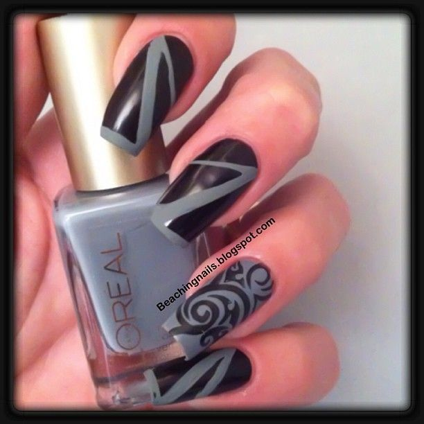Instagram photo by beachingnails   #nail #nails #nailart