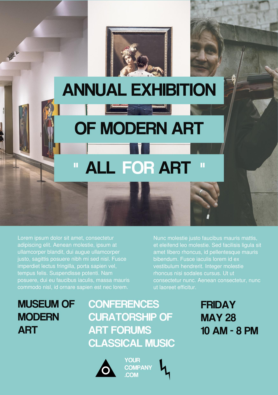art exhibition a5 promotional flyer premadevideos com a5 art exhibition a5 promotional flyer premadevideos com a5