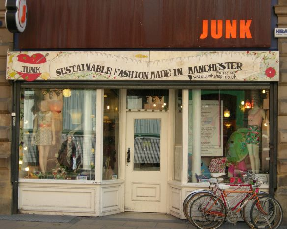 JUNK! quirky store selling reworked vintage clothing and cute ...