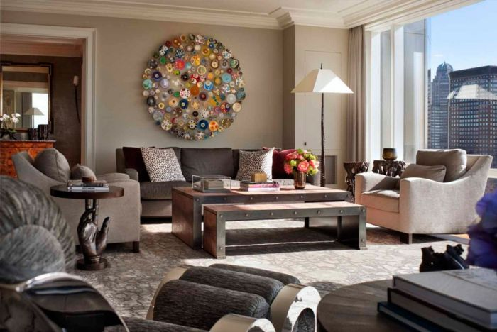 111 Wohnzimmer Ideen - Die besten Nuancen für eine moderne - moderne farbgestaltung wohnzimmer