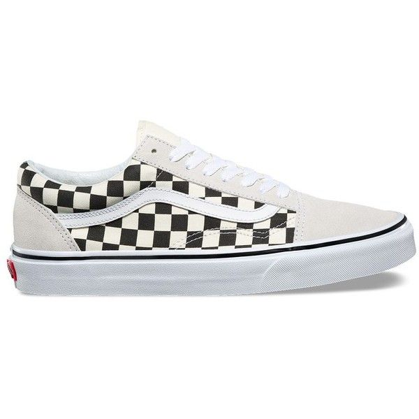 1cc27faa06c2 Vans Checkerboard Old Skool ( 60) ❤ liked on Polyvore featuring shoes