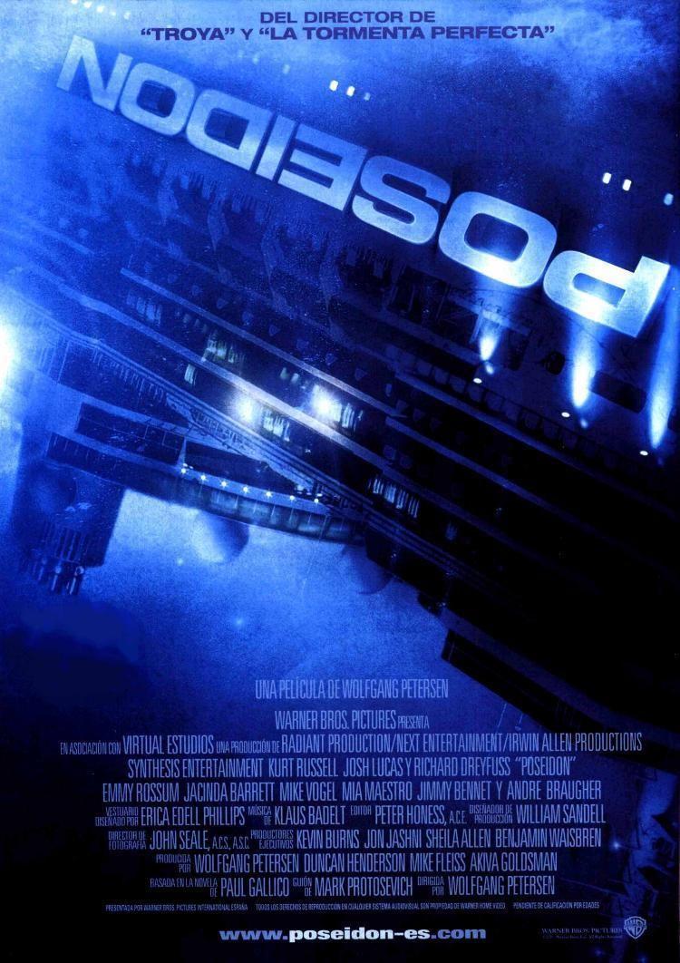 Poseidón 2006 Poseidón Carteles De Cine Peliculas